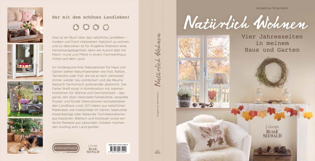 buch nat rlich wohnen angelina wiemann freudentanz. Black Bedroom Furniture Sets. Home Design Ideas