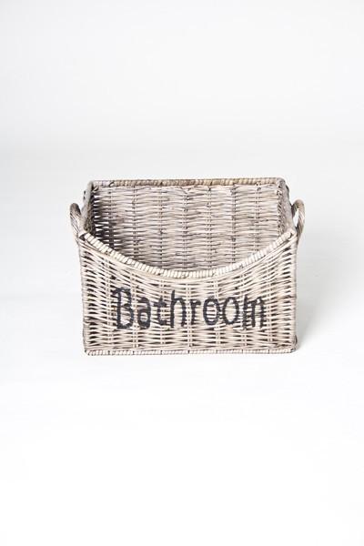 Korb, Badezimmer *RATTAN BATHROOM* - FREUDENTANZ