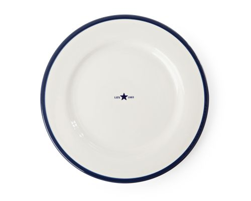 Teller *PLATE STAR BLUE* LEXINGTON