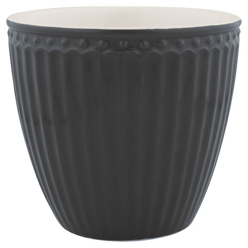 Latte Cup *ALICE DARK GREY* GreenGate