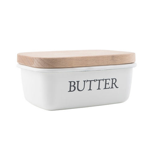 Butterdose *BUTTER, EMAILLE* Ib Laursen