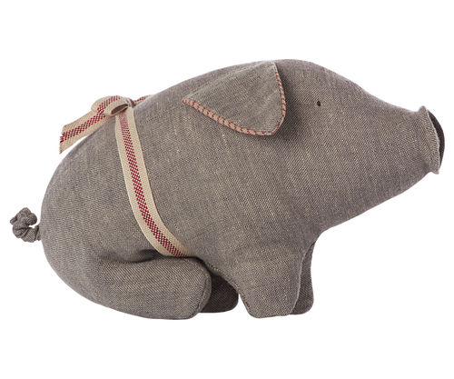 Schwein *GREY SMALL* Maileg