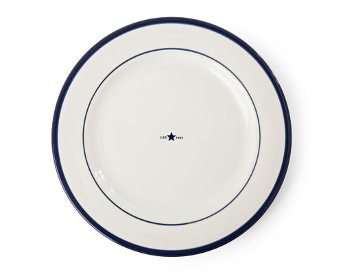 Essteller *PLATE STAR BLUE* LEXINGTON