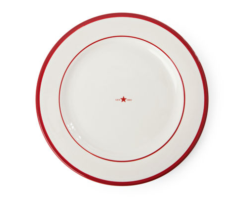 Essteller *PLATE STAR RED* LEXINGTON