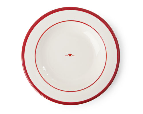 Suppenteller *PLATE STAR RED* LEXINGTON