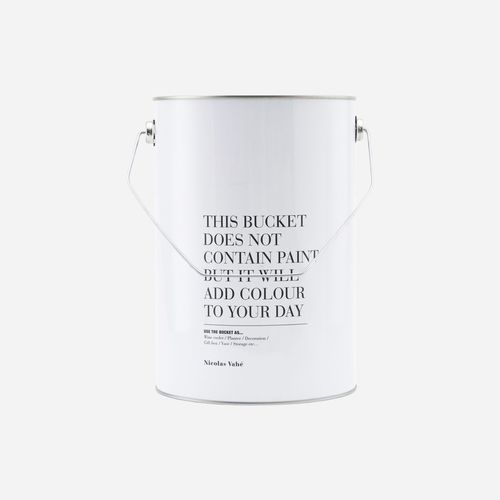 Eimer *THIS BUCKET DOES NOT CONTAIN PAINT..* Nicolas Vahé