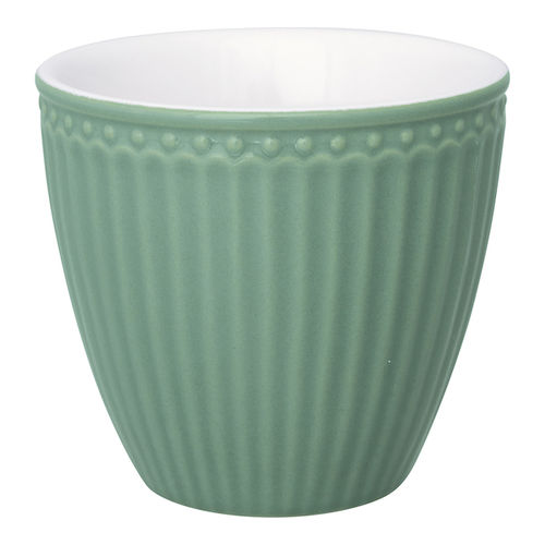 Latte Cup *ALICE DUSTY GREEN* GreenGate