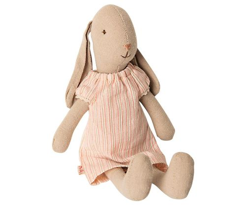 Hase *BUNNY NIGHTGOWN STRIPES, SIZE 1* Maileg