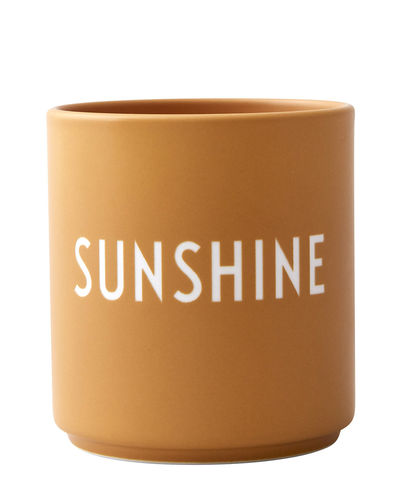 Becher *SUNSHINE - GELB* DESIGN LETTERS