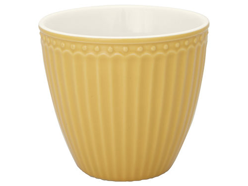 Latte Cup *ALICE HONEY MUSTARD* GreenGate