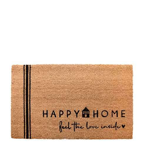Fußmatte *HAPPY HOME* Bastion Collections