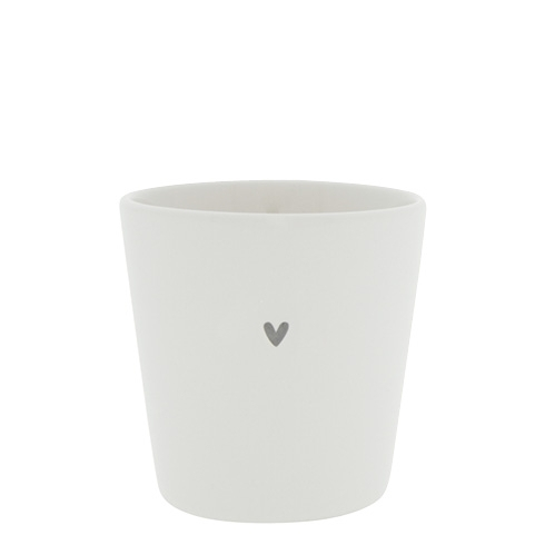 Cup *HEART GREY* Bastion Collections